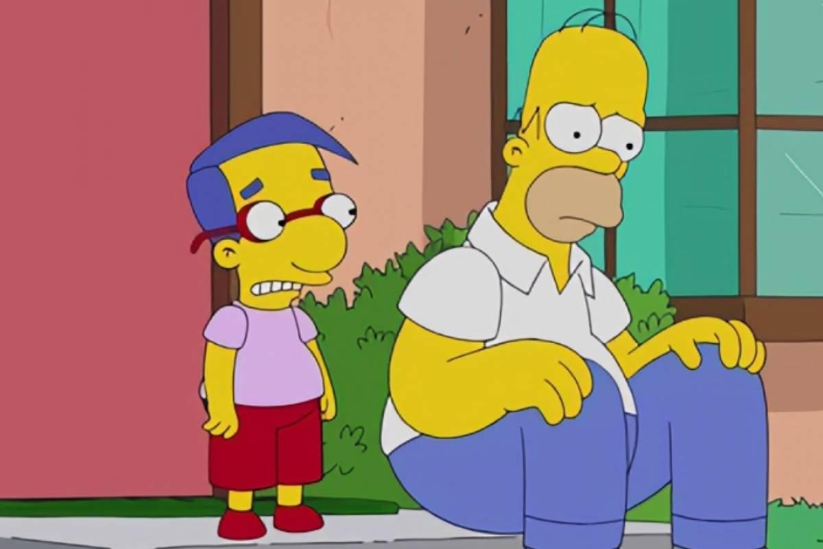 Homero y Milhouse cambios en la temporada 33 y 34