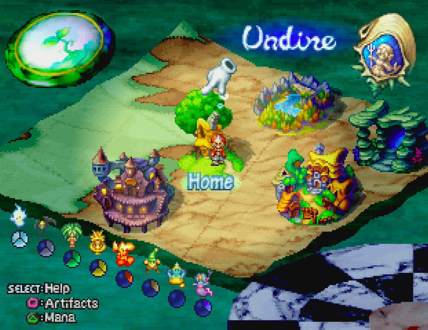Legend Of Mana Remastered ps4
