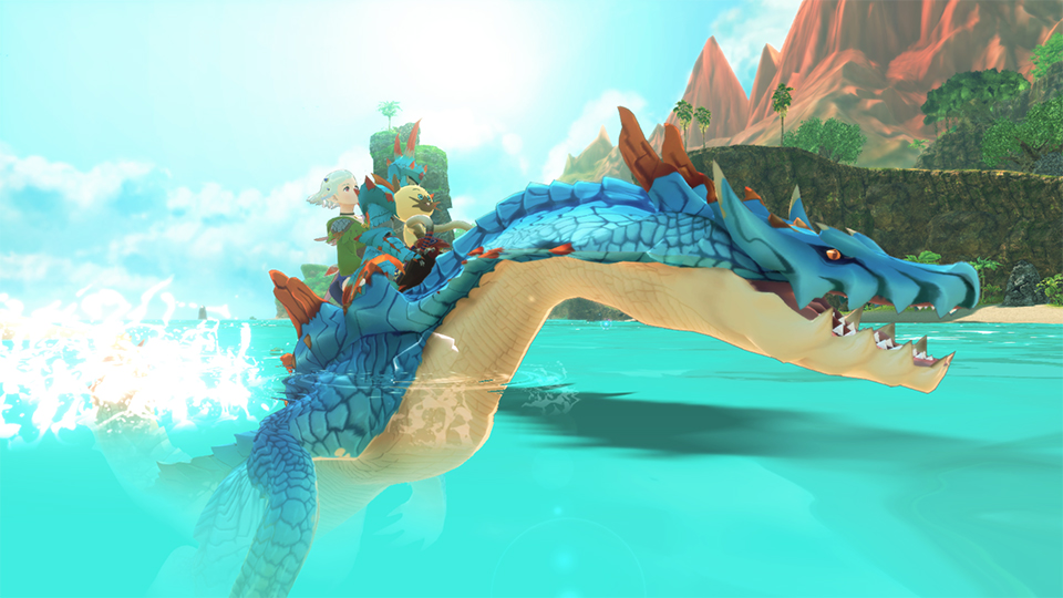Monster Hunter Stories 2: Wings of Ruin monturas monstie