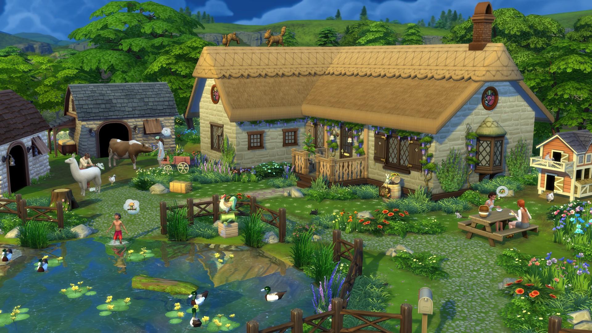 Los Sims Vida en el Pueblo