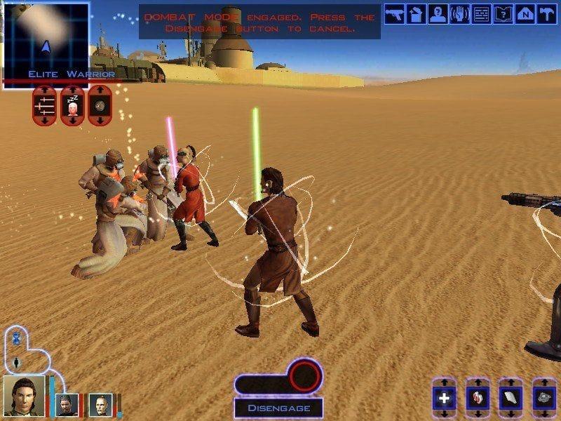 star wars kotor gameplay 1