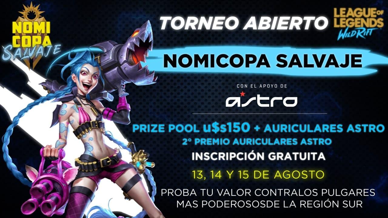 Astro Gaming se une a la Nomi Copa Salvaje